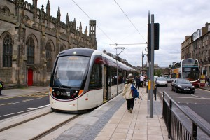 Edinburgh tram 2014