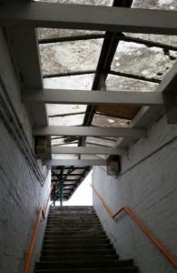 Gainsborough Lea Road stairs