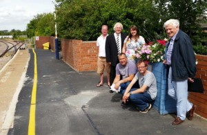 Gainsborough Lea Road  volunteers and Nigel Harris